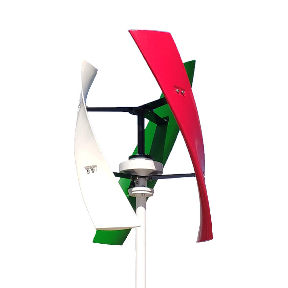 FLTXNY 400W vertical wind turbine Magnetic levitation 12v/24v 300RPM no noise with contro high efficient home use/On grid use