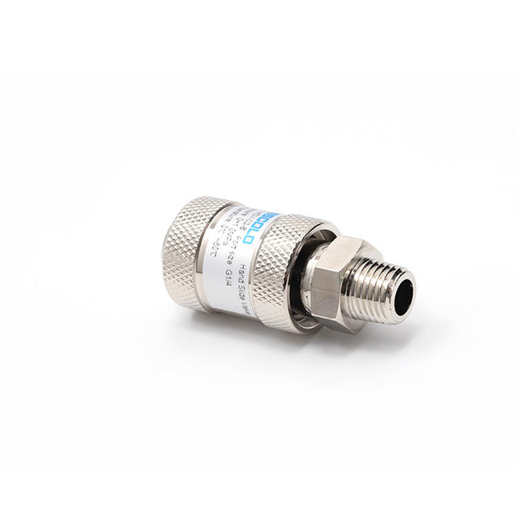HSV-02B series nickel plated brass pneumatic control hand slide valve