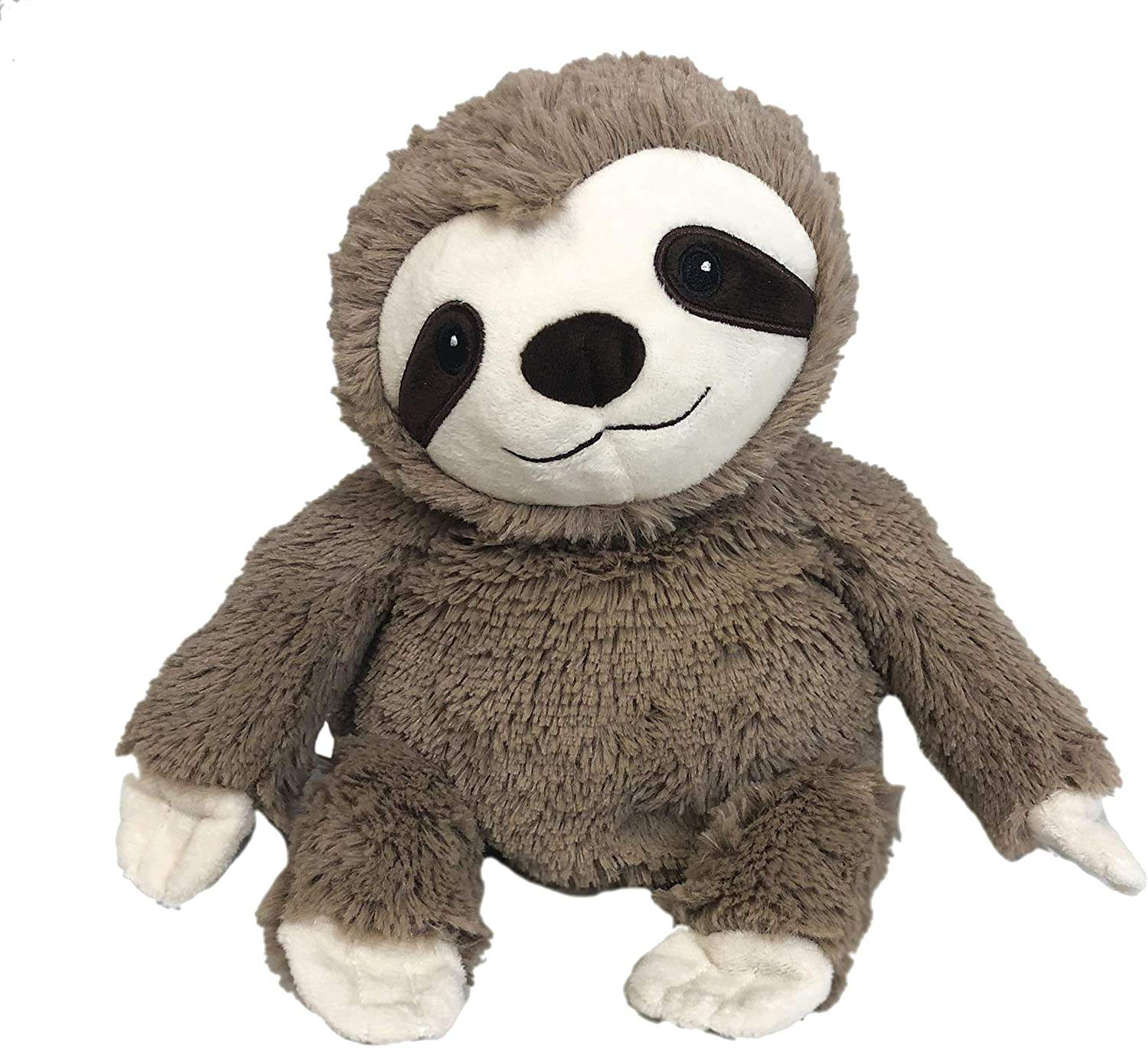 Amazon hot sale Microwavable Warm plush stuffed animals Flax seed Cozy Plush Sloth Warmies soothing warmth and comfort