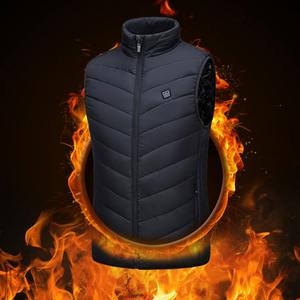 Winter Full Body Heating Clothes Warm USB Charging Smart Heating Vest For Man