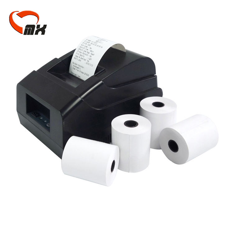 Pos cash register 80*80 atm pos printed thermal paper jumbo rolls