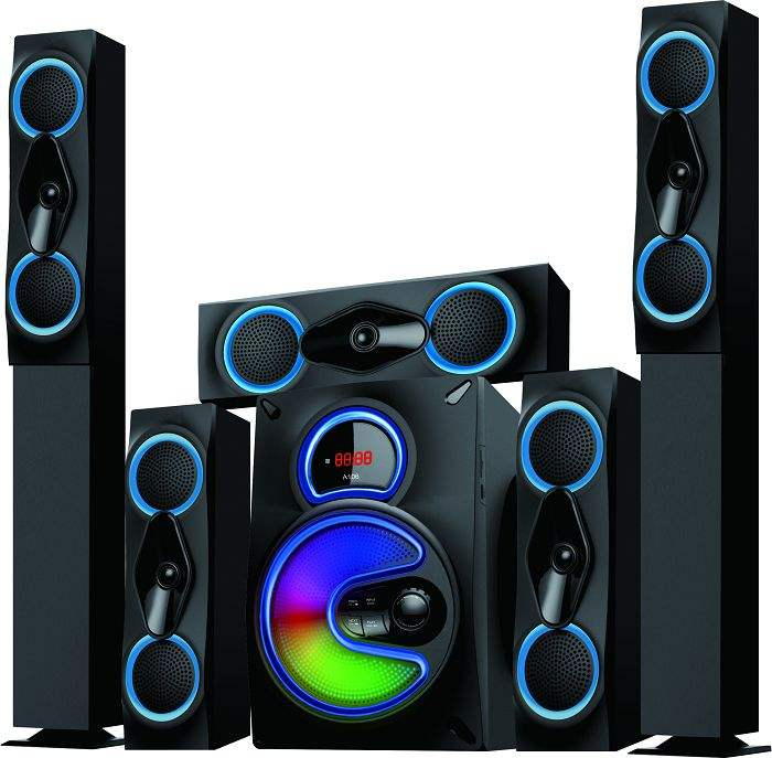 "5.1 Audio Multimedia Surround Sound Home Theater Speaker system-A106(8"")"