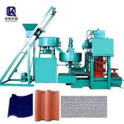 KQ8-128 Tile Making Machine Construction Building Material Metal Roofing Panel Machine for sale