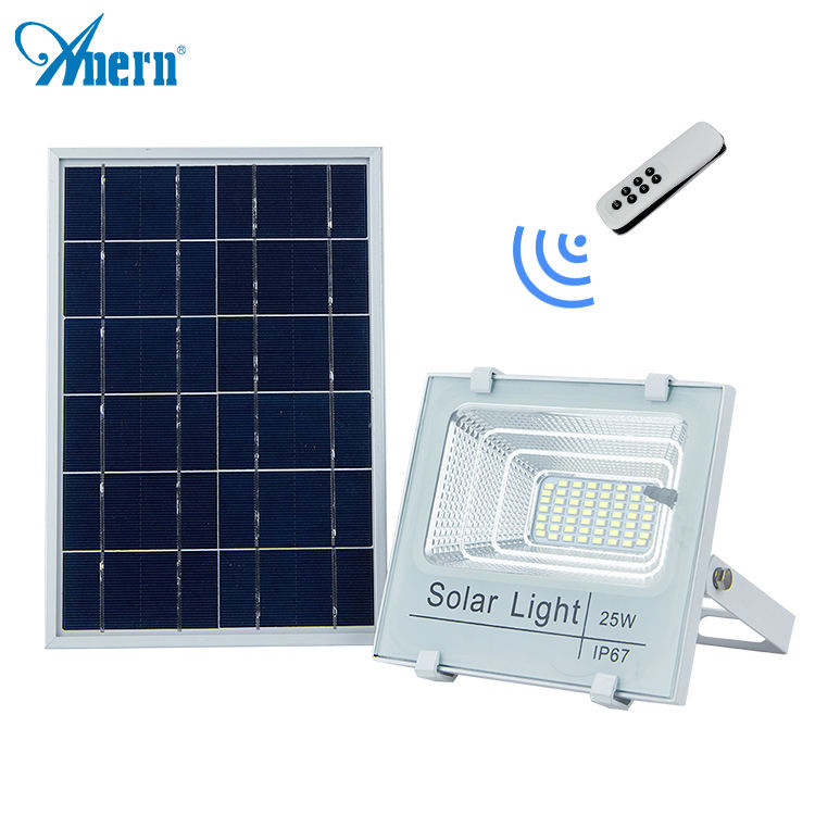 Anern 5 Years Warranty IP65 solar led flood light 100w