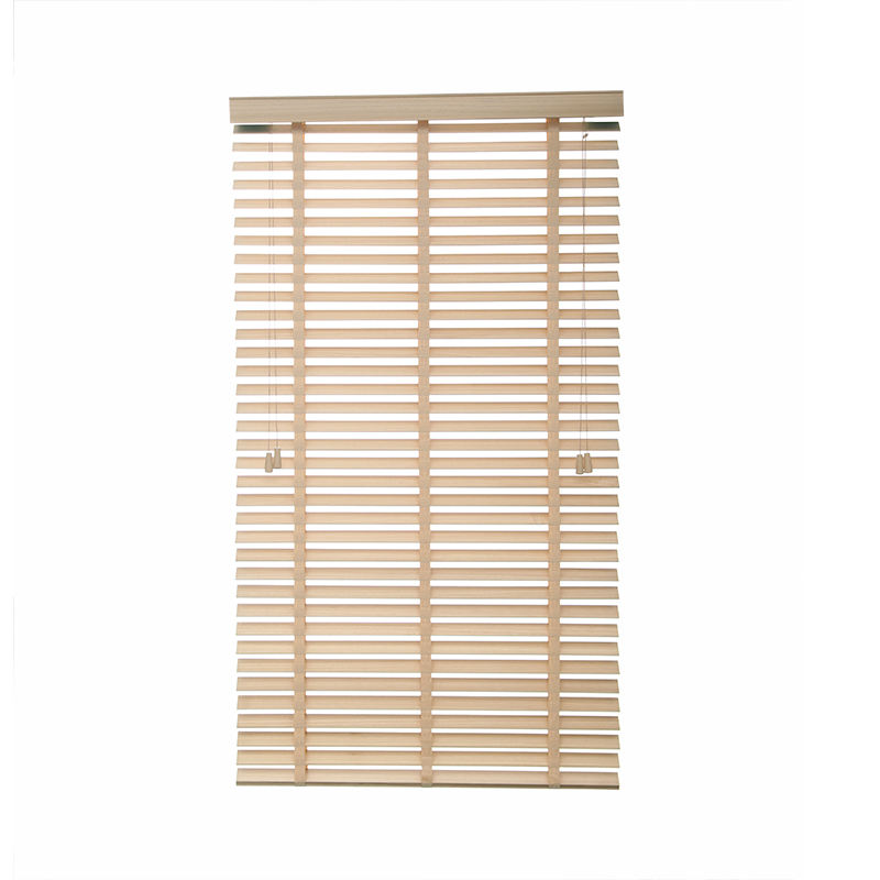 horizontal pattern blinds for windows paulownia blinds indoors New fashion window blinds 50mm