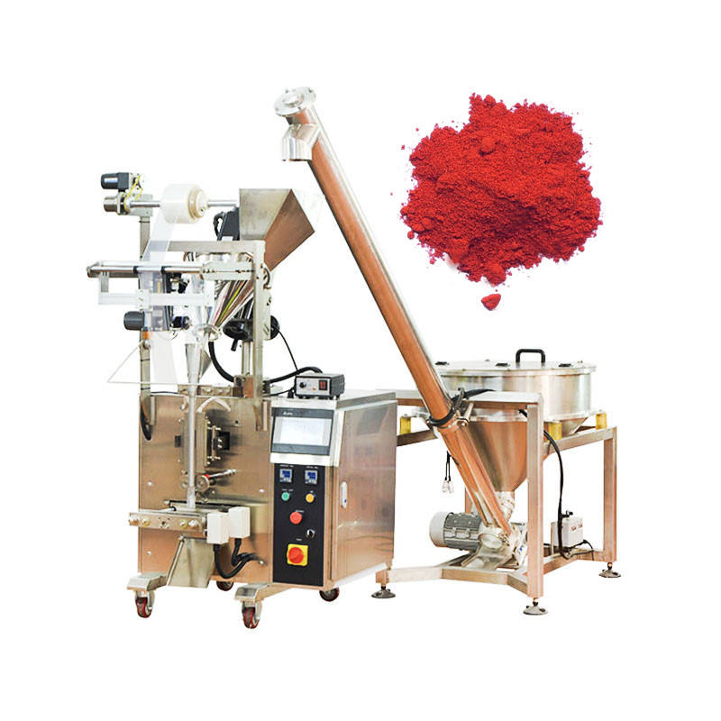 Low Cost 50g 100g 300g Vertical Chilli Powder Spice paprika Powder Sachet Packing Machine Price