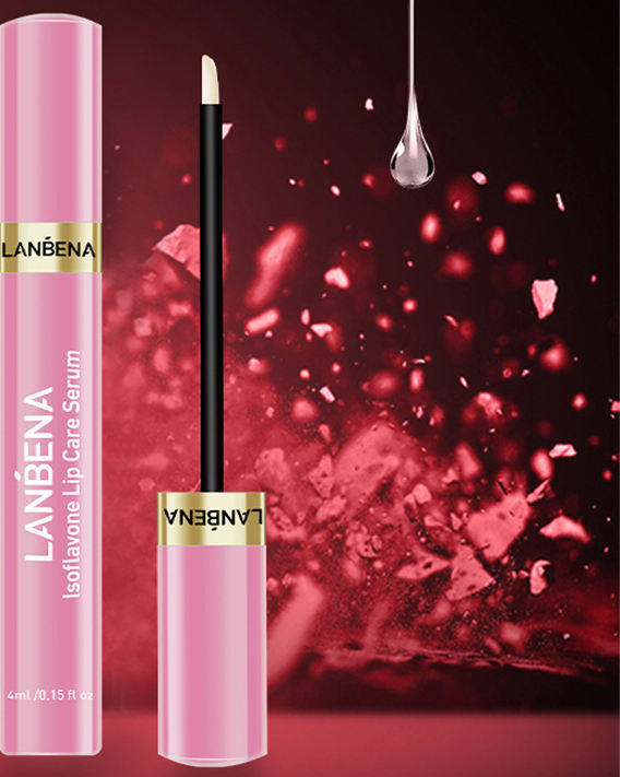 Isofiavones Promote Collagen Synthesis Activate Cell Lanbena Lip Plump Serum Lanbena Lip Lightening Serum