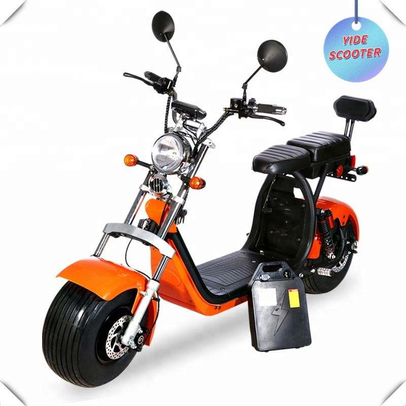 Norway 2 Wheel Electric Bike Gps Folding EEC COC Road Legal Factory Electric Citycoco With Sharing Function