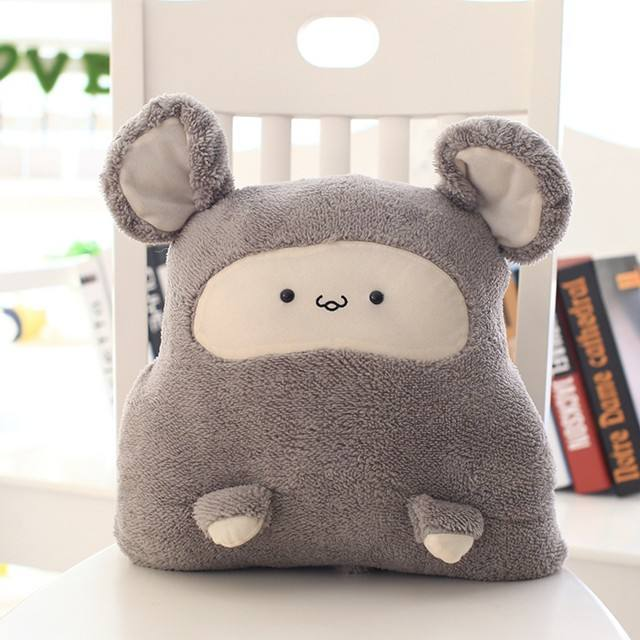 buy big and small soft air conditioner blanket shaped hand warmer online plush toy