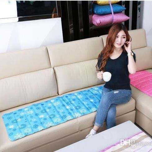 Summer Home Supply Cooling Cushion Sofa Ice Pad Student Cool Down Cushion Dormitory Single Cool Mattress