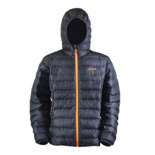 Italian hooded puffer jacket men's padded winter jackets