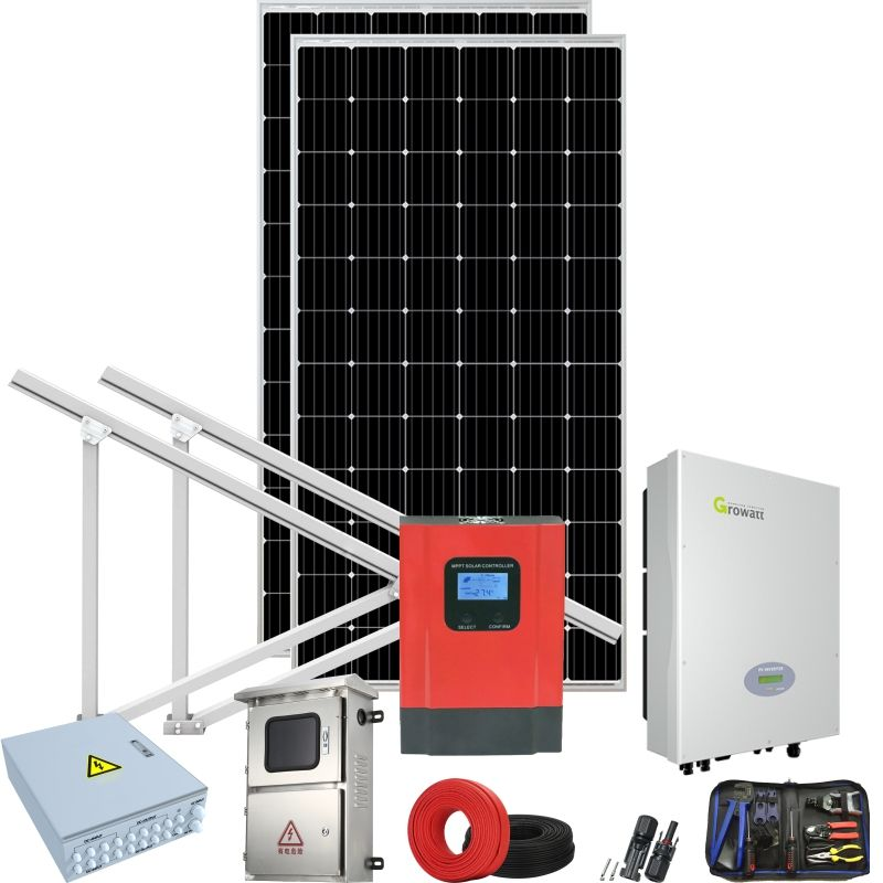 Techo solar unit system in punjab with aluminum mounting bracket clamp
