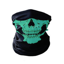 Outdoor Motorcycle Head Bandanas Ghost Tactical 3D  Sport Bandanas