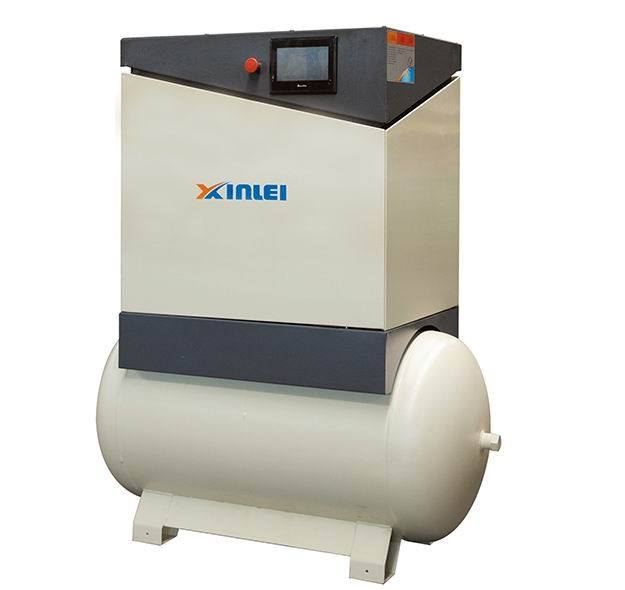 10HP 7 .5KW frequency inverter screw air compressor XLPM10AT-t815
