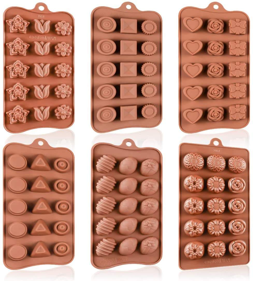 Chocolate Molds Custom FDA Silicone Fondant Cake Mold Fondant Tools Cake Decorating Wholesale Silicone Molds for chocolate