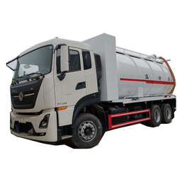 Dongfeng 20CBM vacuum waste sucking sewer cleaning sewage suction truck for sale