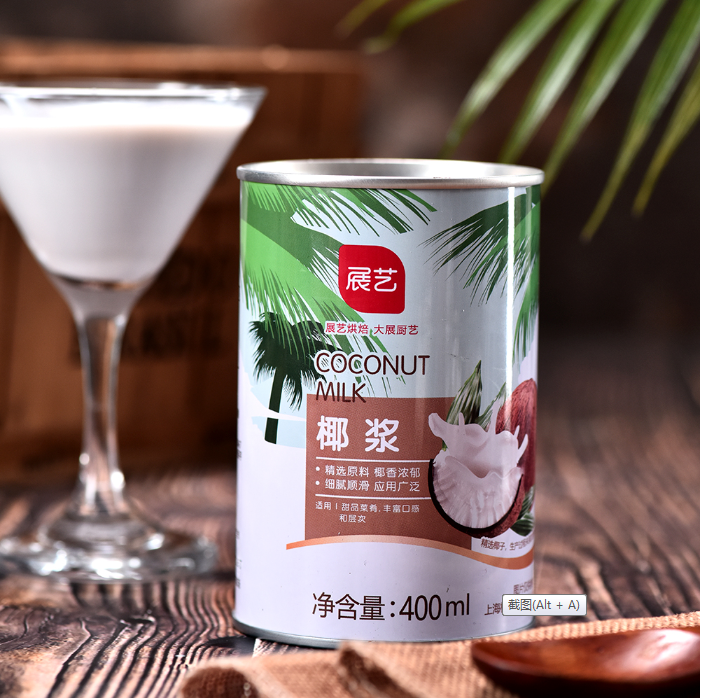 Manufacturers High Quality Healthy Drink 400 ml Tin Coconut Milk