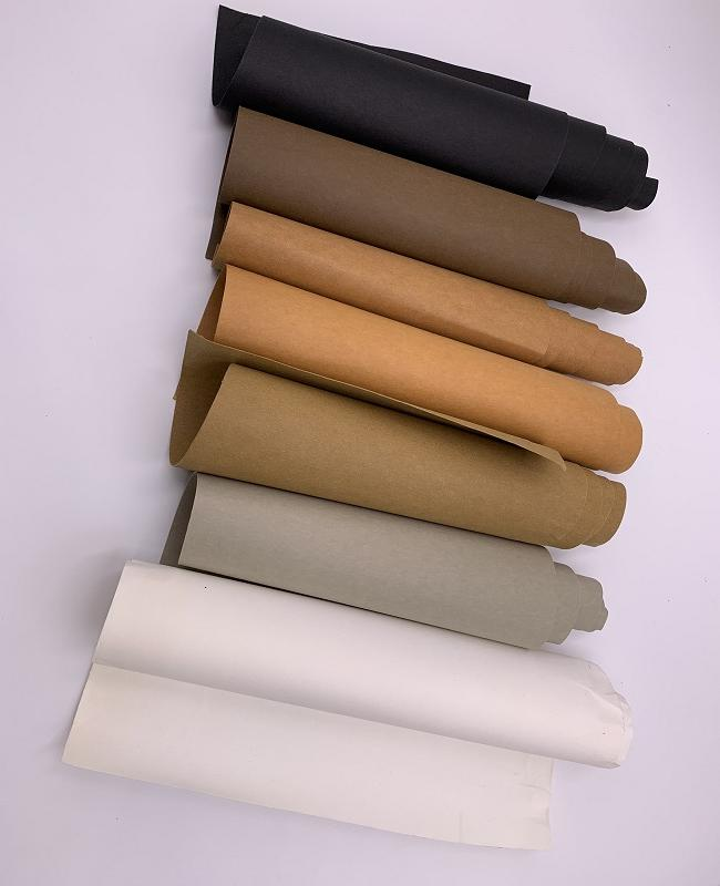 Paper factory washable kraft paper fabric , waterproof kraft paper roll