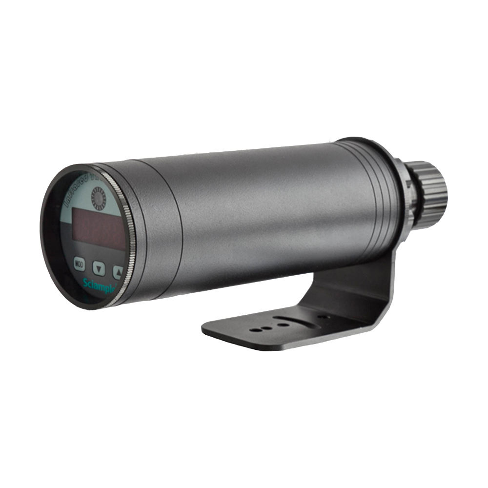 Online high temperature infrared thermometer for industrial furnace