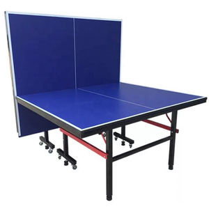 OEM your logo Outdoor Movable Foldable Pingpang Table Tennis Tables with Net and racket