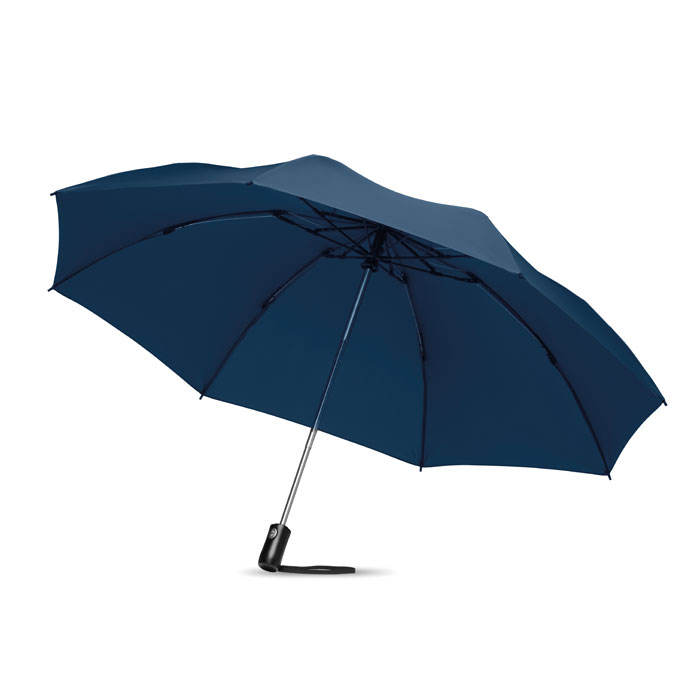 [SuccessPromo] 23'' 3 fold auto open/close reversible umbrella in 190T pongee material chrome plating steel shaft