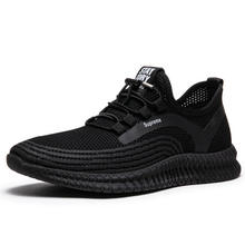 Fly-knit Breathable Sneaker Comfortable Men/male Sports Shoes Fashion Walking Casual Shoes