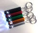 Custom Engraved Laser Logo Led Flashlight Keychain Mini Led Keyring Torch
