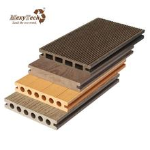 Decorative 140*23mm made in china timber wood plastic composite decking garden supply laminate flooring