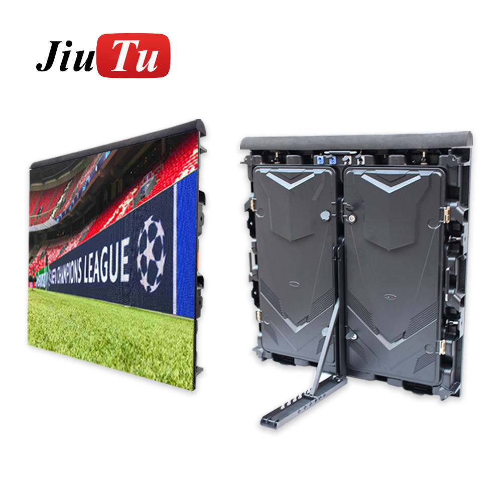 Football Stadium Perimeter Video Led Display Cabinet 960X960mm P5 P6.67 P8 P10 Stadium Screen