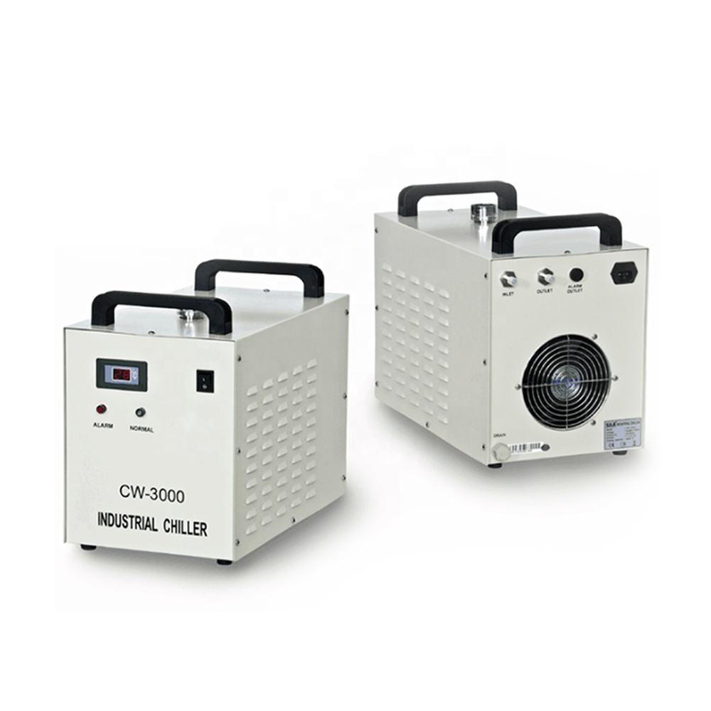 Cloudray CL250 <span class=keywords><strong>CO2</strong></span> Kaca Chiller CW-3000 CW-5000 CW-5200 Water Chiller Sistem <span class=keywords><strong>Pendingin</strong></span> Chiller