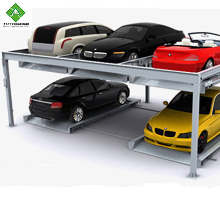Smart second hand intelligent garage parking aid equipment car electrical parking puzzle system