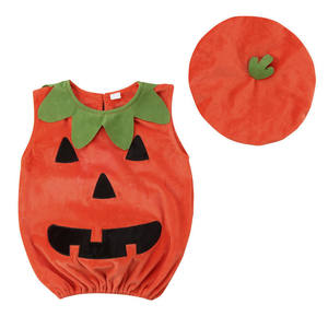 Dropship Halloween Costume For Kids Newborn Baby Boy Girl Pumpkin Tops Outfit Party Fancy Dress Clothes Cute Children Clothing