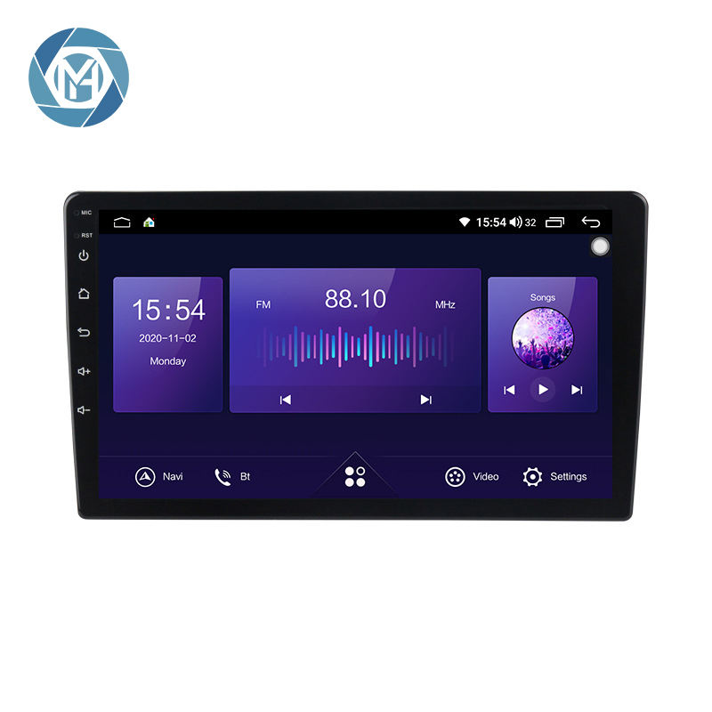7862 9 дюймов 10 дюймов QLED автомобильное радио 4 + 64G 6 + 128G DSP RDS CARPLAY Авто Радио 2 din аудио Android стерео видео GPS DVD MP5 плеер