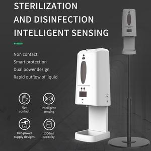 sensors touchless hand sanitizer automatic alcohol foam soap dispenser bottle