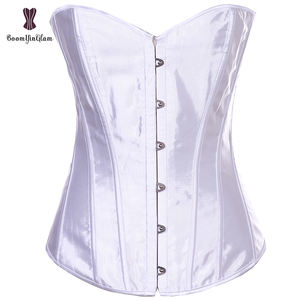 Popular Selling Simple Elegant Wedding Satin Overbust Women Waist Slimming Best Waist Training Shaperwear Tops