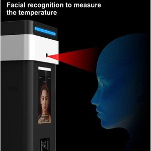 2020 cheap mini security face recognition ip android ai ir thermal camera module detector temperature mobile sensor