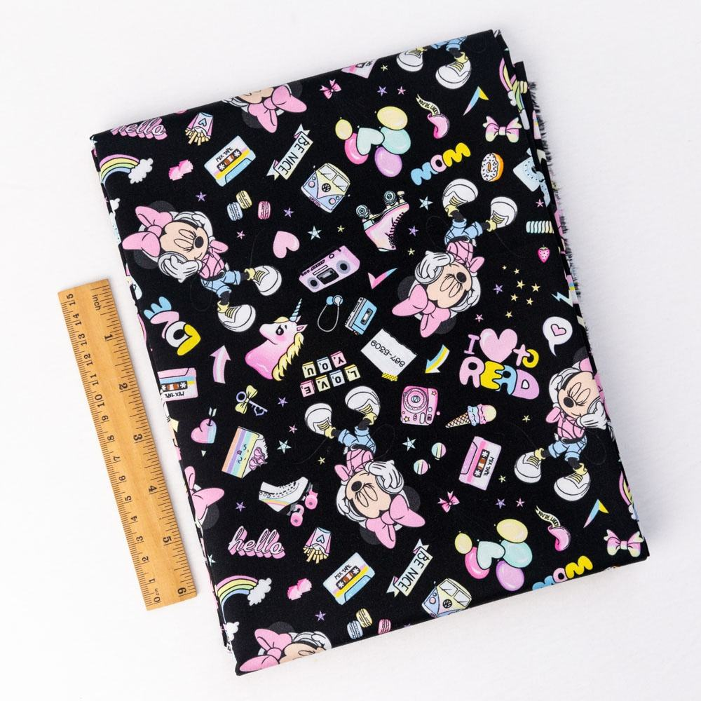 Twill [ Textile Printing ] Oeko Tex 100 Textile Manufacturer Pretty Soft And Smooth Cartoon Mouse Custom Cotton Woven Twill Fabric Printing