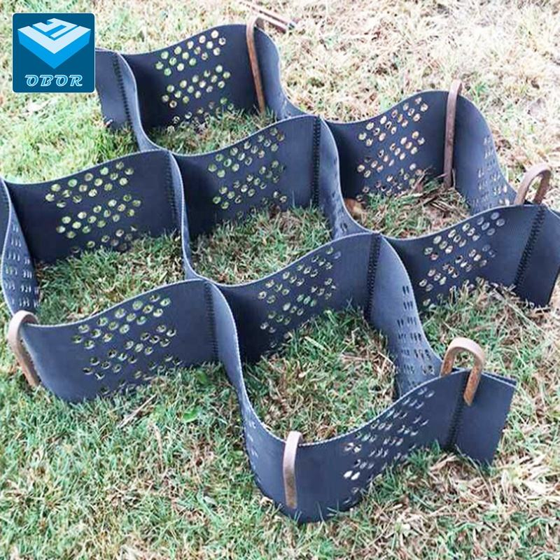 plastic honeycomb HDPE geocell for retaining wall