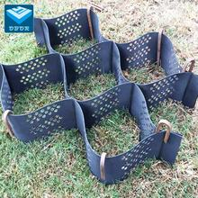 HDPE smooth textured Geocell gravel grids paver Geotech Lattice for ground road driveway reintaining Factory lower Price
