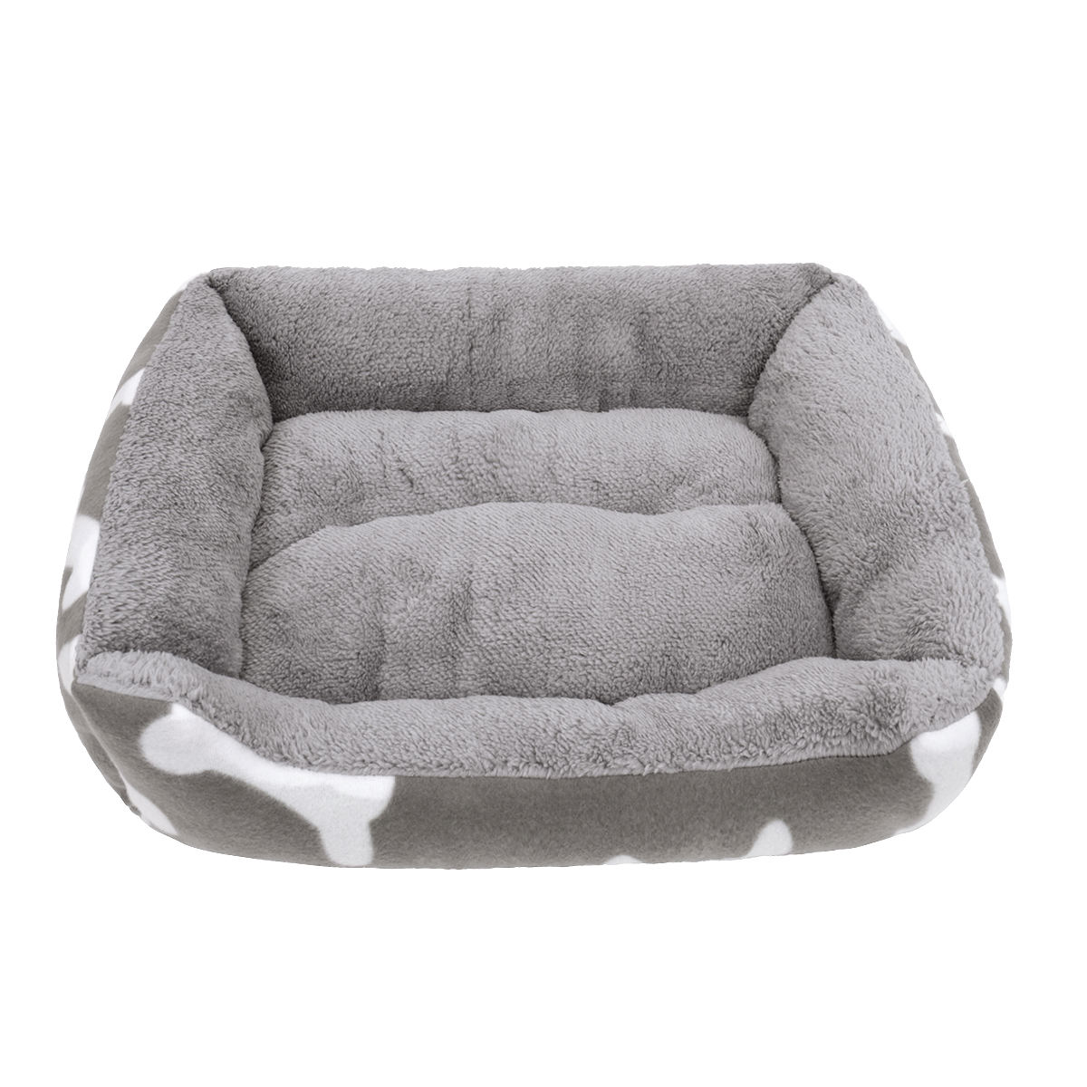 High Quality Comfortable Pet Luxury Bed With Bone Pattern Dog Mat