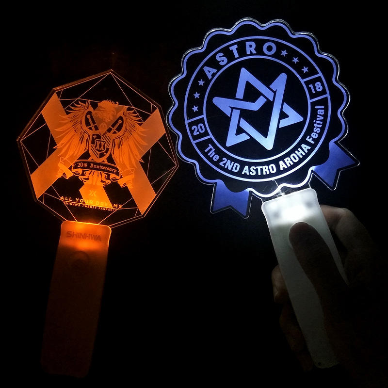 Custom Acrylic Kpop Led Light Stick Concert Glow Stick