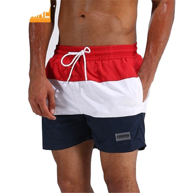 Hot Sale Custom Boardshorts 4 Way Stretch Blank Board Shorts Men's Surf Beach Pants