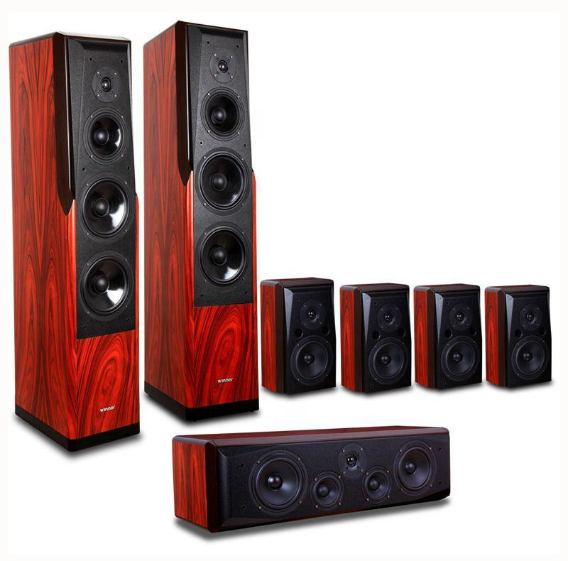 ODM/OEM Industri High End HD Home Theater Speaker 5ch/7ch HI FI Speaker AV Speaker