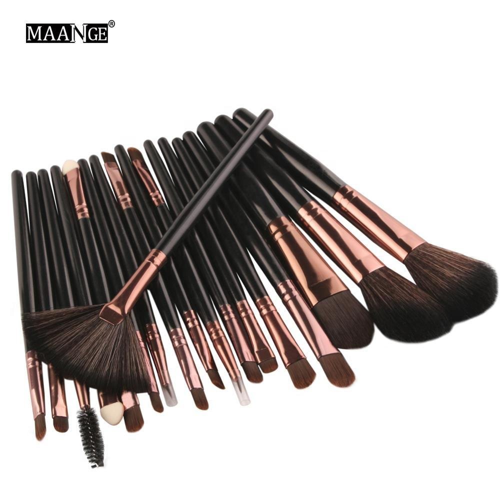 private label 18 pcs/set makeup brush set custom logo make up brush
