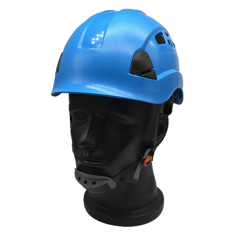 ANT5 OEM brands 6 point suspension climbing hard hats with chin strap