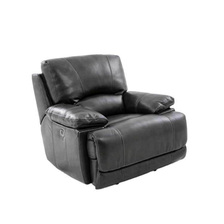 MANWAH CHEERS new model luxury comfortable 3 2 1 reclining leather living room furniture