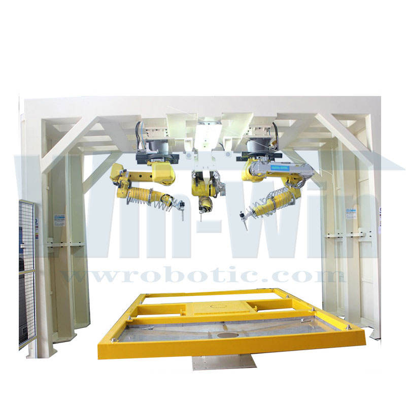 5aix waterjet 6 Axis Waterjet Cutting Machine 60000psi water jet cutting equipment for robot CNC Machine for waterjet