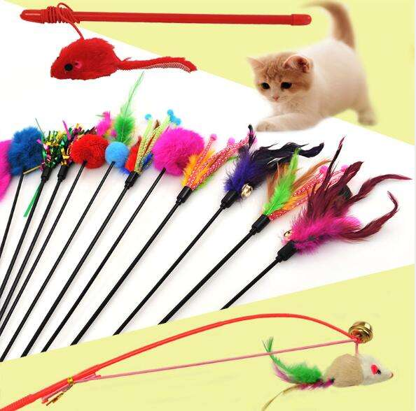 China low cheap price pet product cat teaser ball rope toy cat toys wholesale supplier bulk pet toys