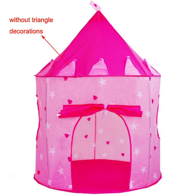 100X100X135Cm <span class=keywords><strong>Diy</strong></span> Draagbare Groothandel Meisjes Indoor Roze Tent Kids Play Tent Huis