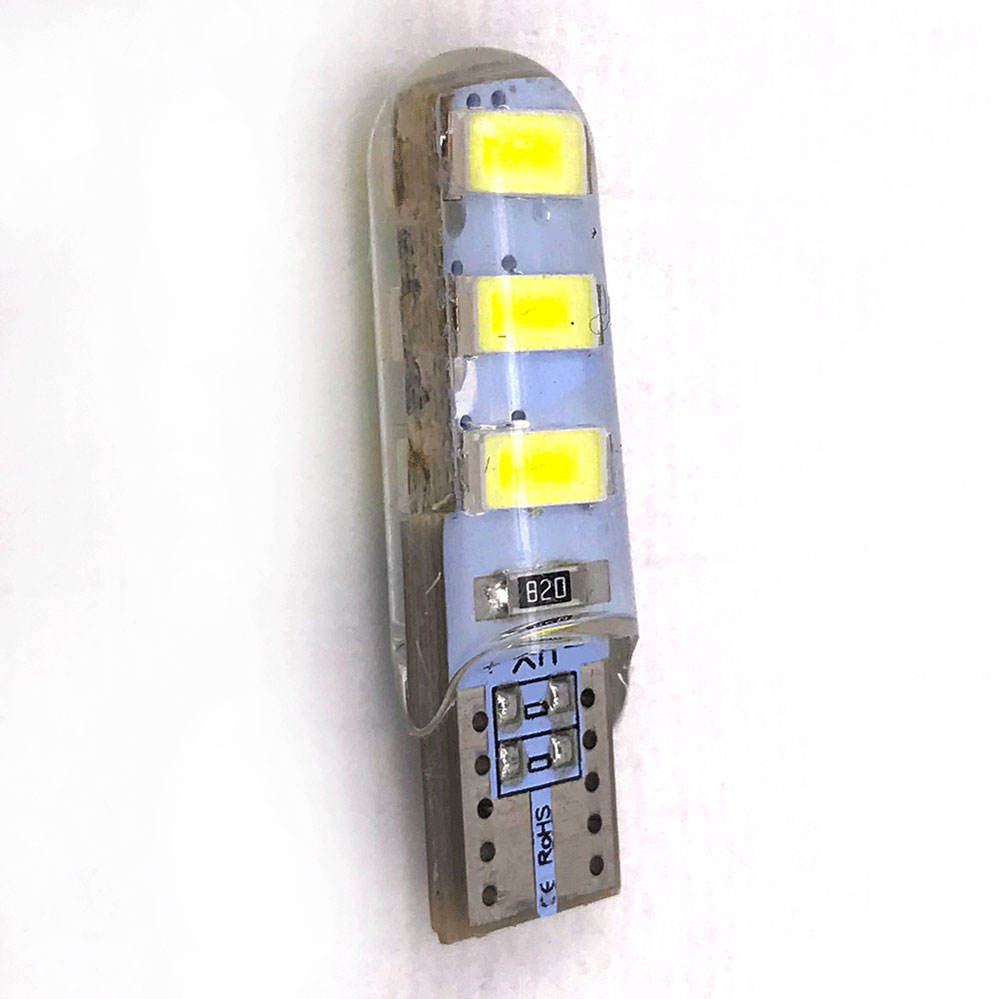 <span class=keywords><strong>T10</strong></span> Silica Gel 6 SMD 5630 5730 Auto LED Innen breite Licht 194 501 LED Wedge Parking Dome Glühbirnen Seiten lampen LED <span class=keywords><strong>W5W</strong></span> drehen
